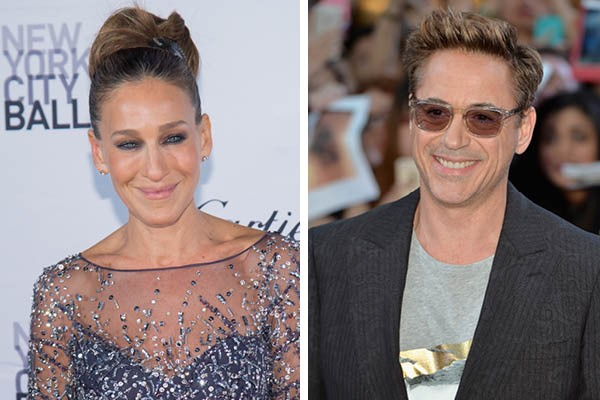 Sarah Jessica Parker e Robert Downey Jr. (Foto: Getty Images)