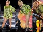 Brilhos, transparências e pernas à mostra: confira os figurinos usados por Beyoncé na nova turnê