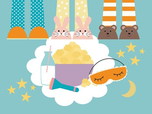 festa do pijama (Foto: crescer)