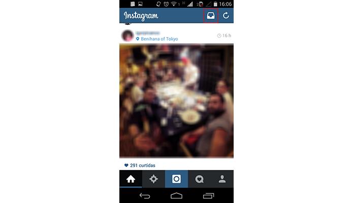 Acesse suas mensagens diretas no Instagram (Foto: Reprodução/Paulo Alves)