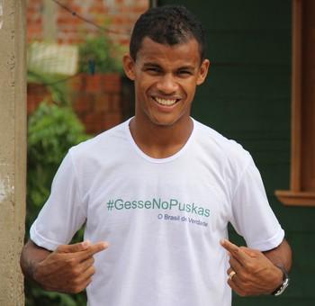 gessé atlético-ac prêmio puskas (Foto: João Paulo Maia)