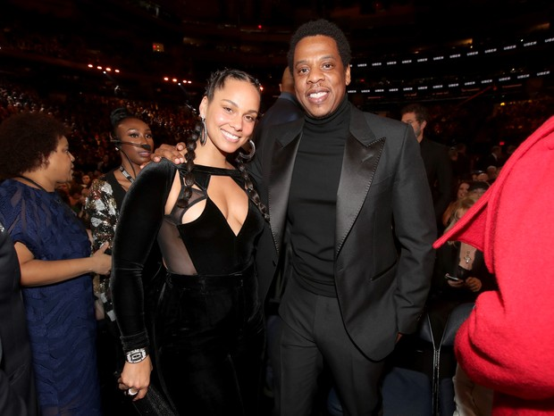 Jay-Z no Grammy 2018 (Foto: getty images)
