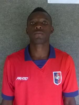"""Mohammed Yussif, o """"Califa"""", jogador ganês do Sport-ES (Foto: Assessoria de imprensa/Sport-ES)"""