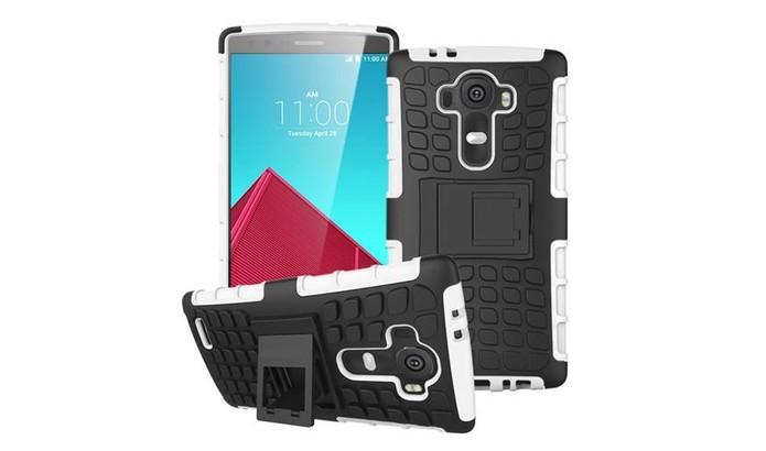 Capa super protetora com design de armadura para LG G4 (Foto: Divulgação/Nave10)