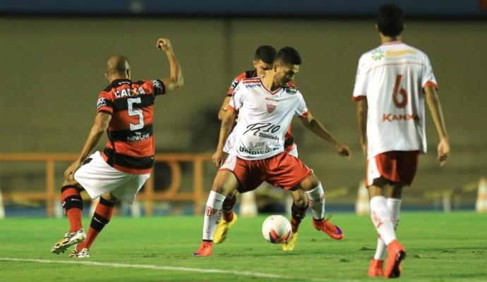 Atlético-GO x Mogi Mirim no Serra Dourada (Foto: Wildes Barbosa/O Popular)