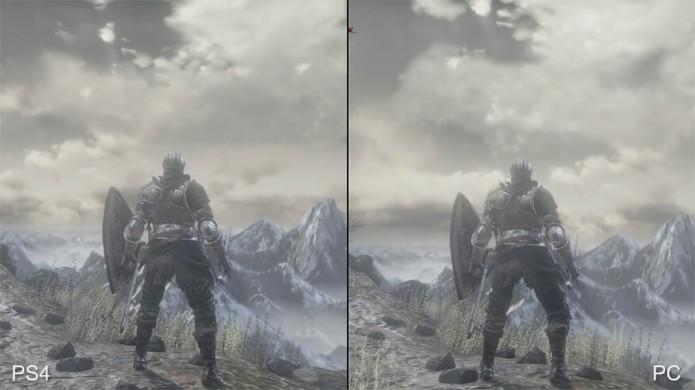 Dark Souls 3 apresenta belos visuais tanto no PlayStation 4 e Xbox One quanto no PC (Foto: Reprodução/YouTube)