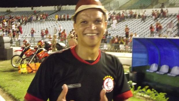 warley, 'cangaceiro' do campinense (Foto: Silas Batista)