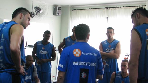 Liga Sorocabana de Basquete - academia (Foto: Rafaela Gonçalves / GLOBOESPORTE.COM)
