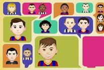 Emotipops da final entre Barça e Juve (Infoesporte)