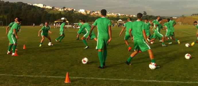 Guarani treino Sorocaba (Foto: Sarah Bulhões / Guarani FC)