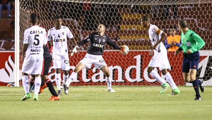 Victor, goleiro do Atlético-MG contra o Melgar (Foto: Bruno Cantini/ Flickr Atlético-MG)