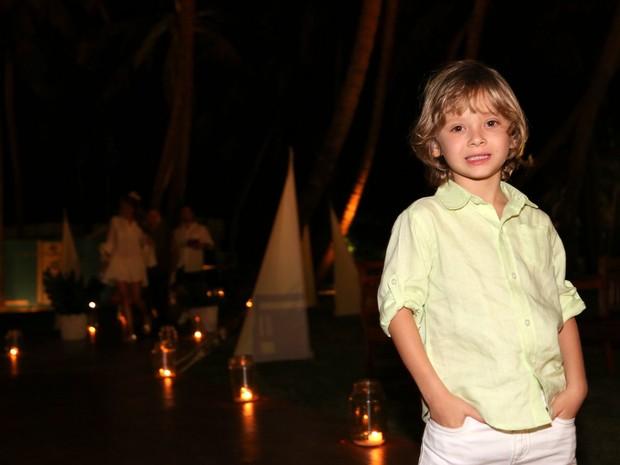 Vittorio, filho de Adriane Galisteu, em festa em Fortaleza, no Ceará (Foto: Francisco Cepeda e Denilson Santos/ Ag. News)