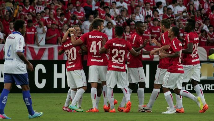 Fabricio gol, Internacional x Caxias (Foto: Wesley Santos/Agência PressDigital)