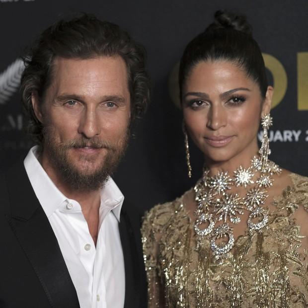 Matthew McConaughey e Camila Alves (Foto: Getty Images)
