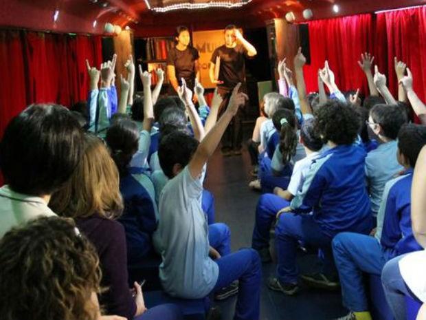 Projeto fica em Ponta Grossa até sexta-feira (4) (Foto: Divulgação/Buzum!)