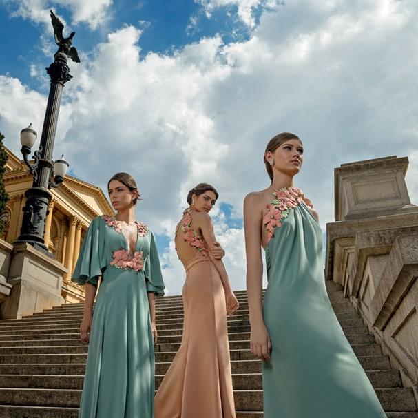 Vestidos de Elisa Lima (Foto: Divulgação)
