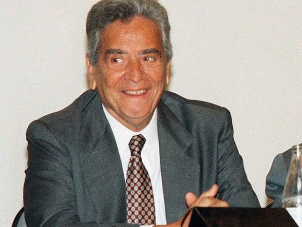 O governador do Rio de Janeiro, Marcello Alencar (Foto: Beth Santos/Folhapress)