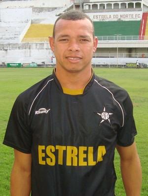 Juca, novo atacante do Estrela do Norte (Foto: Divulgação/Estrela do Norte FC)