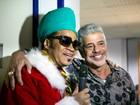 Elenco define Natal perfeito, e Lulu cita Final: 'Noite regada a boa música'
