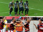 Ronaldinho Gacho resgata &#39;bonde&#39; da poca de Flamengo (Arte / Globoesporte.com)