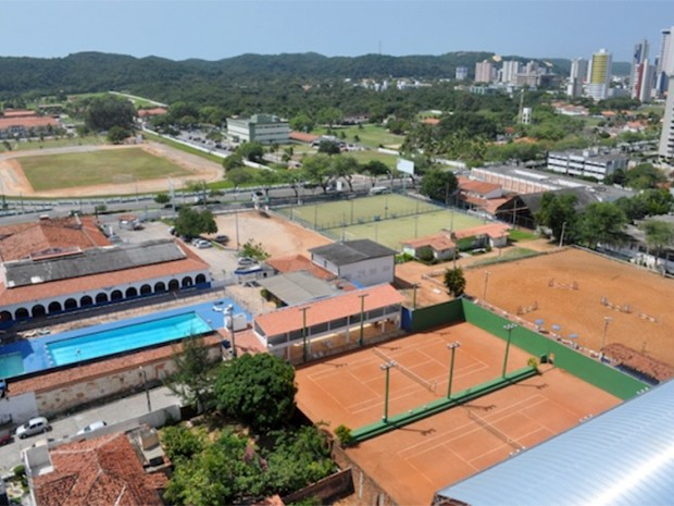 Terreno do Aeroclube do RN é alvo de disputa judicial com o Governo do Estado (Foto: Aeroclube do RN/Divulgação)