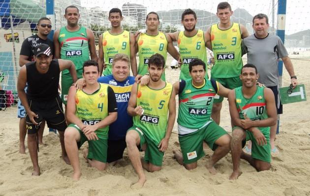 handebol de areia piaui masculino (Foto: Divulgação)