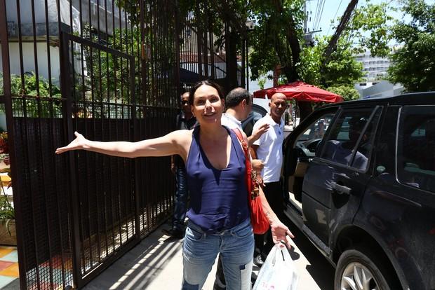 Festa da Maria Antônia de 1 ano - Carolina Ferraz (Foto: AgNews)