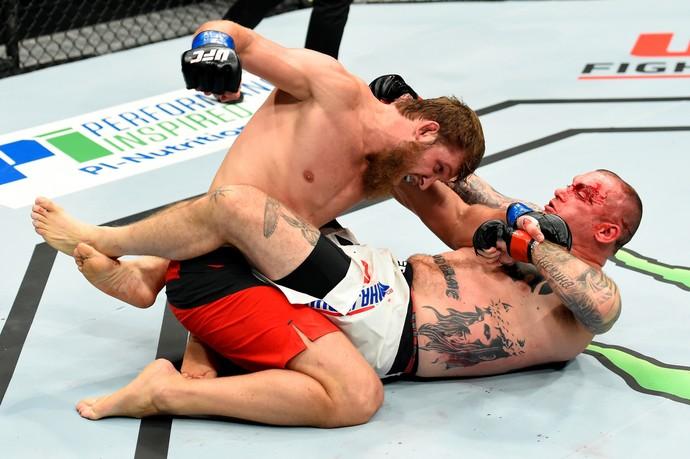 Abdul-Kerim Edilov x Bojan Mihajlovic UFC Roterdã (Foto: Getty Images)