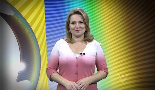 Vanessa Faro, apresentadora do Tribuna Esporte (Foto: Reprodução / TV Tribuna)