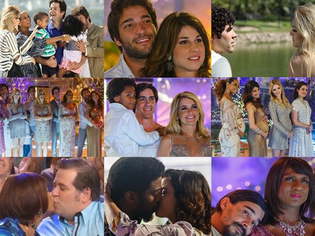 Final dos casais de Geração Brasil (Foto: Geração Brasil / TV Globo)