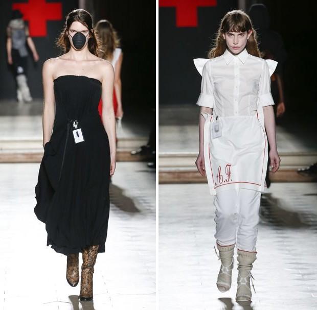 A.F. Vandevorst Haute Couture show, January 2018 (Foto: INDIGITAL.TV)