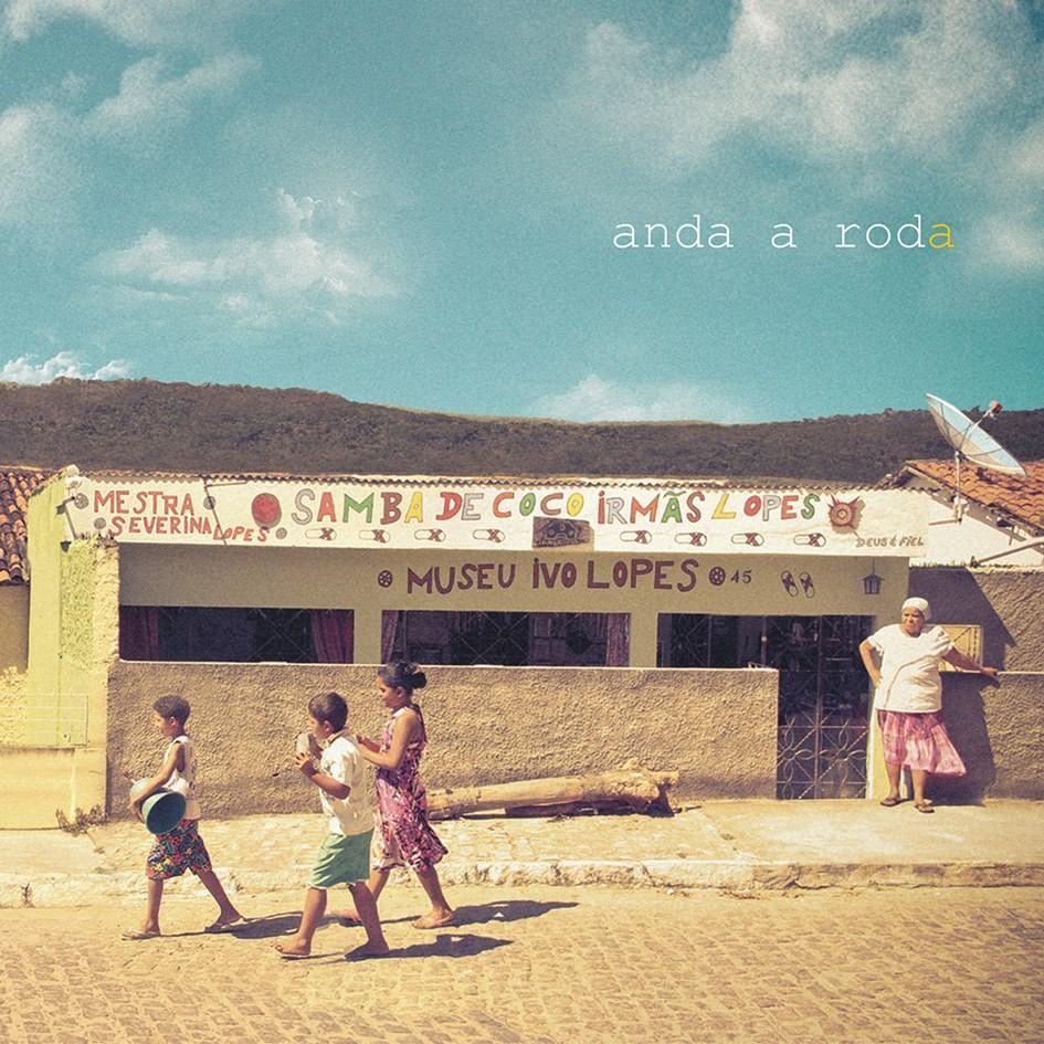 Capa do cd 'Anda a Roda' (Foto: Divulgação/ Samba de Coco Irmãs Lopes)