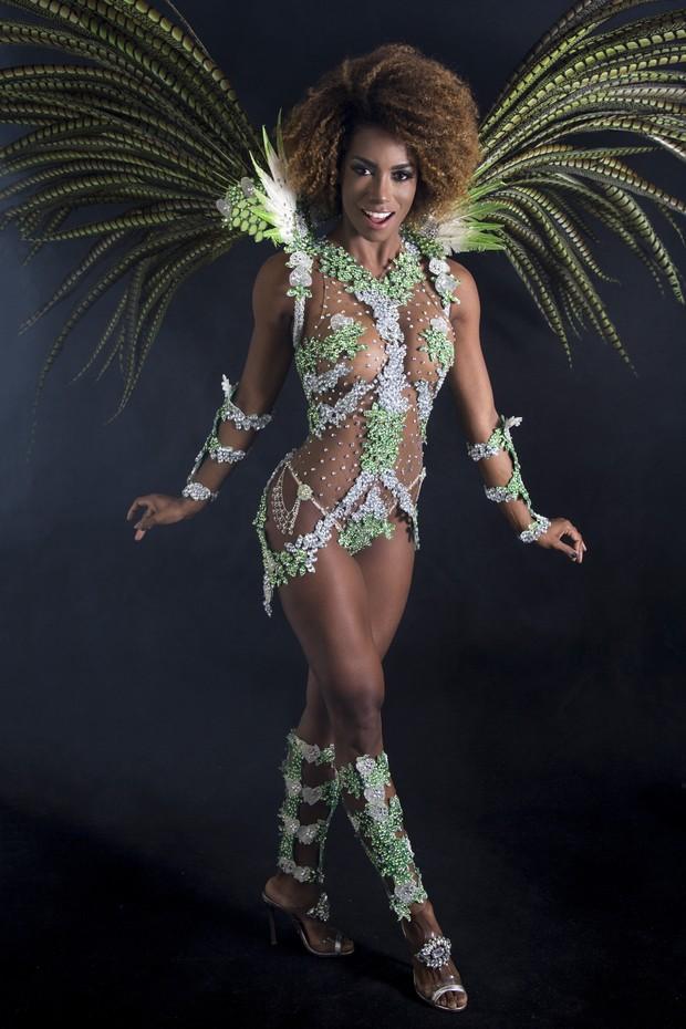 Ivi Pizzott, Bailarina do Faustão (Foto: Marcos Mello /MF Models Assessoria )