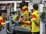 Elenco do Vitória se reapresenta e realiza treino físico na Toca do Leão