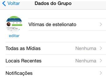 2d816ac88b8 Grupo no WhatsApp criado por vítimas de