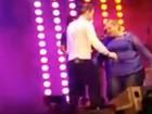 Mulher faz promessa e perde 40 kg para dançar com Wesley Safadão