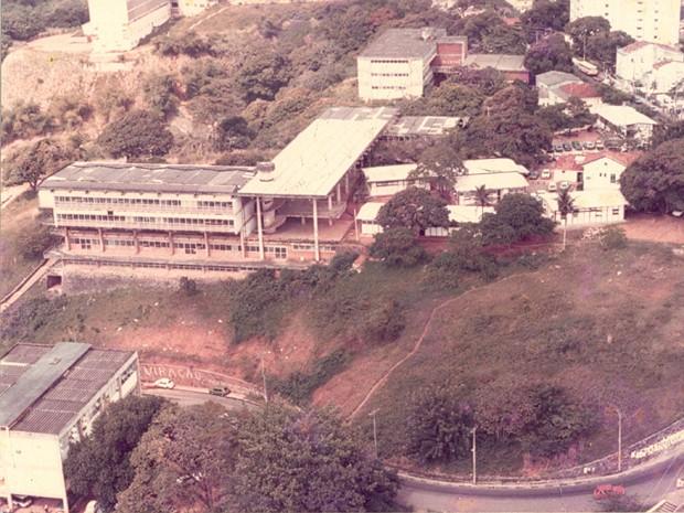 Faculdade de Arquitetura da UFBA (Foto: Acervo do Docomomo Bahia)