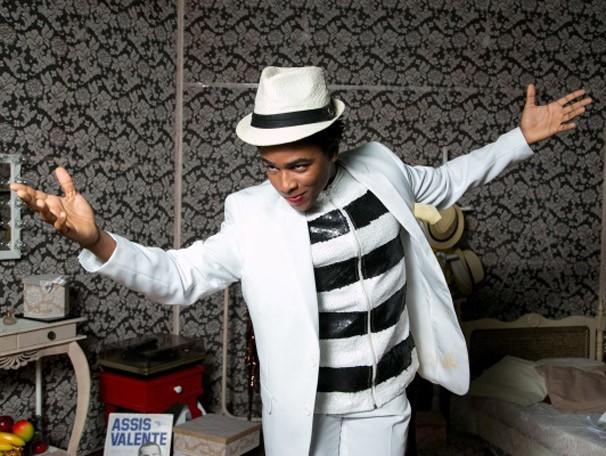 Sidney Santiago Kuanza, se inspira no boêmio personagem carioca  (Foto: Divulgação)