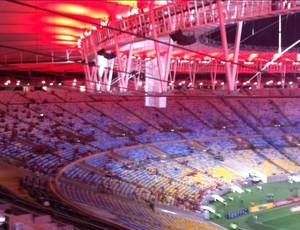 Flamengo X América-RN - Maracanã (Foto: Thales Soares)