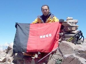 Josenildo Correia da Silva desapareceu no monte Aconcágua desde quarta (6) (Foto: Arquivo Pessoal)