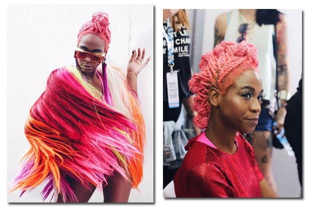 Karol gosta de inovar nos looks e opta por cores vibrantes e chamativas (Foto: Reprodução/Instagram/Hannah Bauhofer)