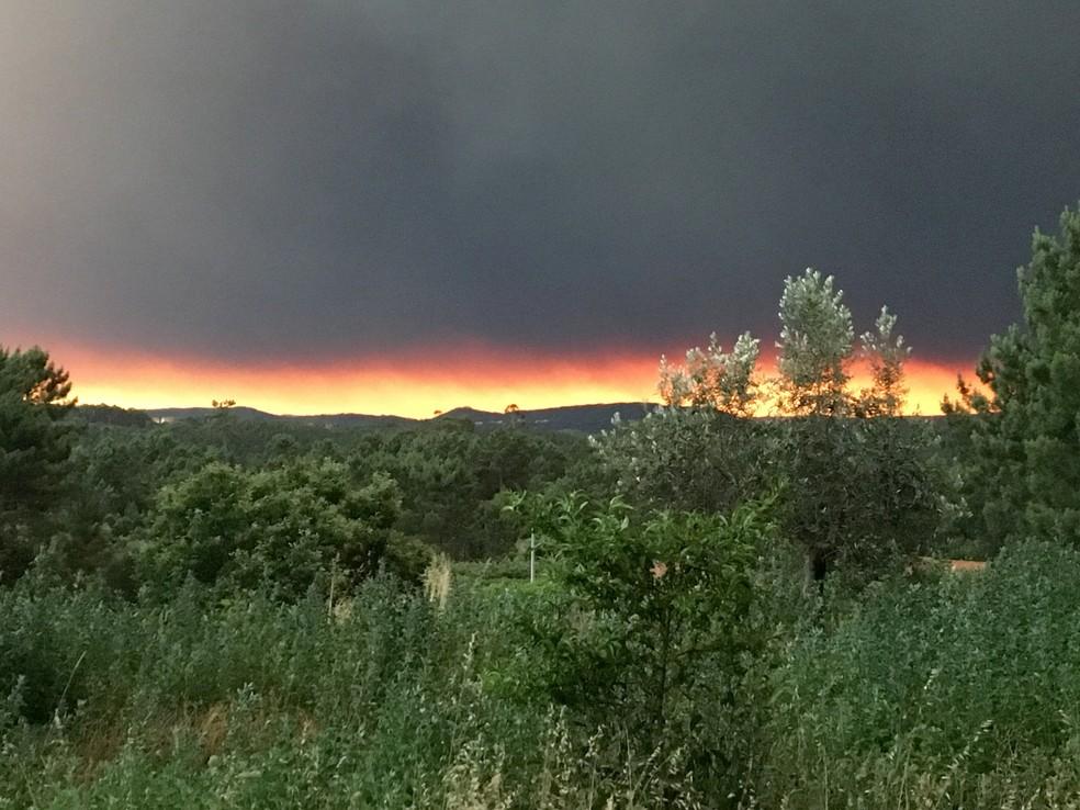 Incêndio deixa mortos e feridos em Portugal (Foto: REUTERS/Axel Bugge)