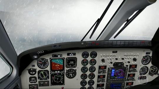 Equipe do RJTV flagra avião com dificuldades para pousar em Paraty