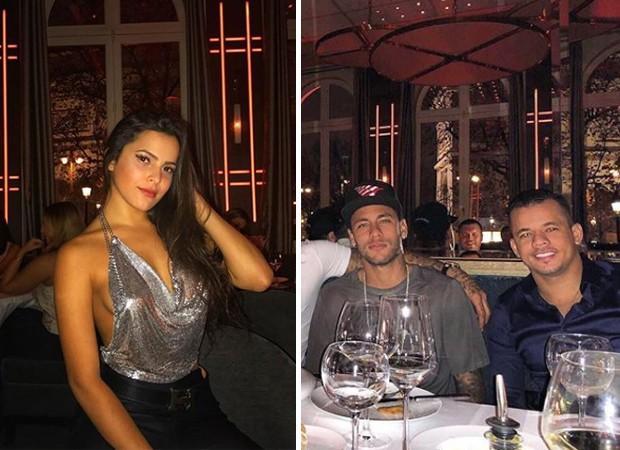 Emilly Araújo, Neymar e Jota Amâncio (Foto: Reprodução/Instagram)