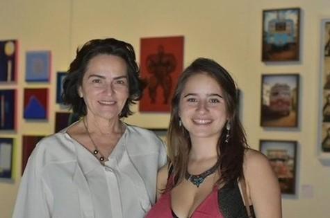Evangelina Seiler e Maunela Llerena Hue (Foto: Douglas Lopes)