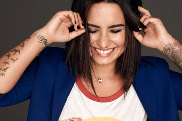 Demi Lovato (Foto: Divulgação/Glamour Magazine)