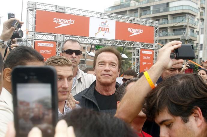 Corrida Arnold Schwarzenegger  (Foto: Maurício Val)