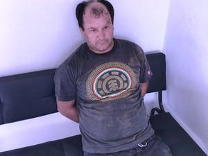 Joanderson foi preso pela Polícia Militar em Padre Carvalho  (Foto: Polícia Militar/Divulgação)