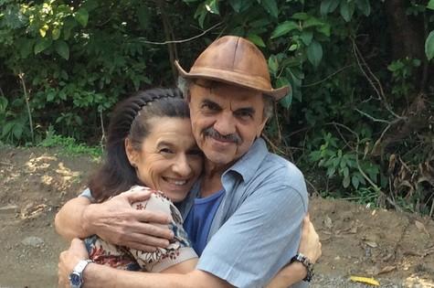 Tuna Dwek e José Dumont serão um casal em 'I love Paraisópolis' (Foto: Arquivo pessoal)