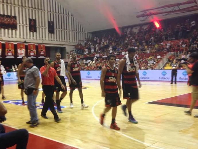 Flamengo x Rio Claro, basquete, NBB, Ginásio do Tijuca (Foto: Marcello Pires)